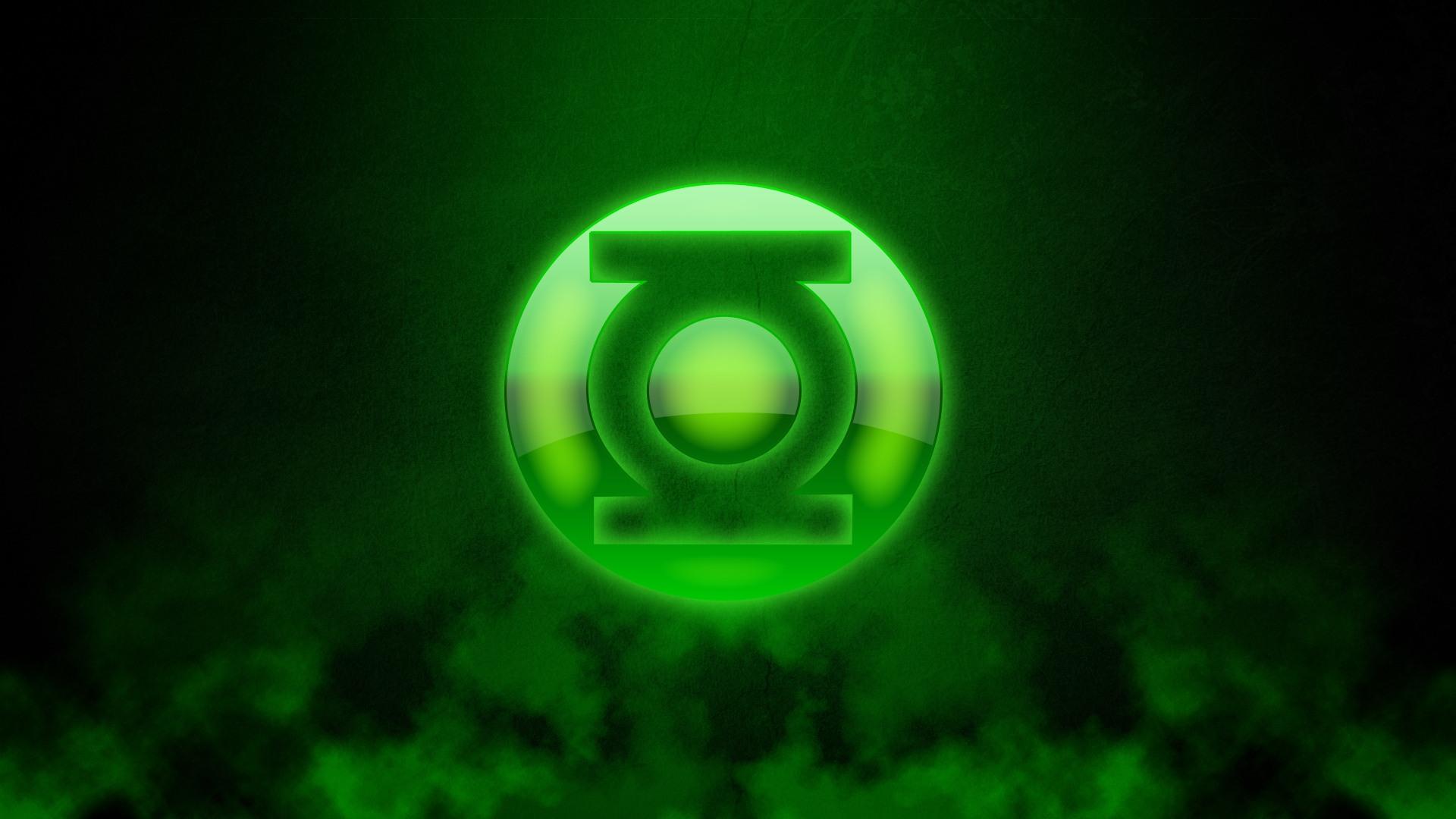 Green Lantern Logo desktop wallpaper 1920x1080