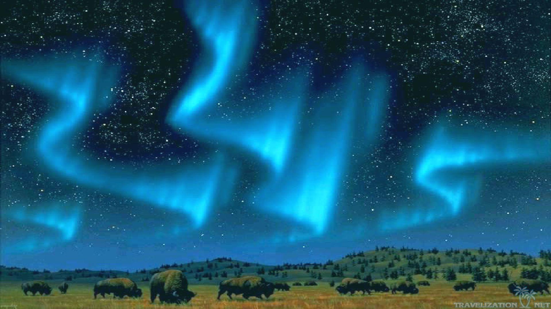 Aurora Borealis Wallpaper, 100% Quality HD Desktop ...