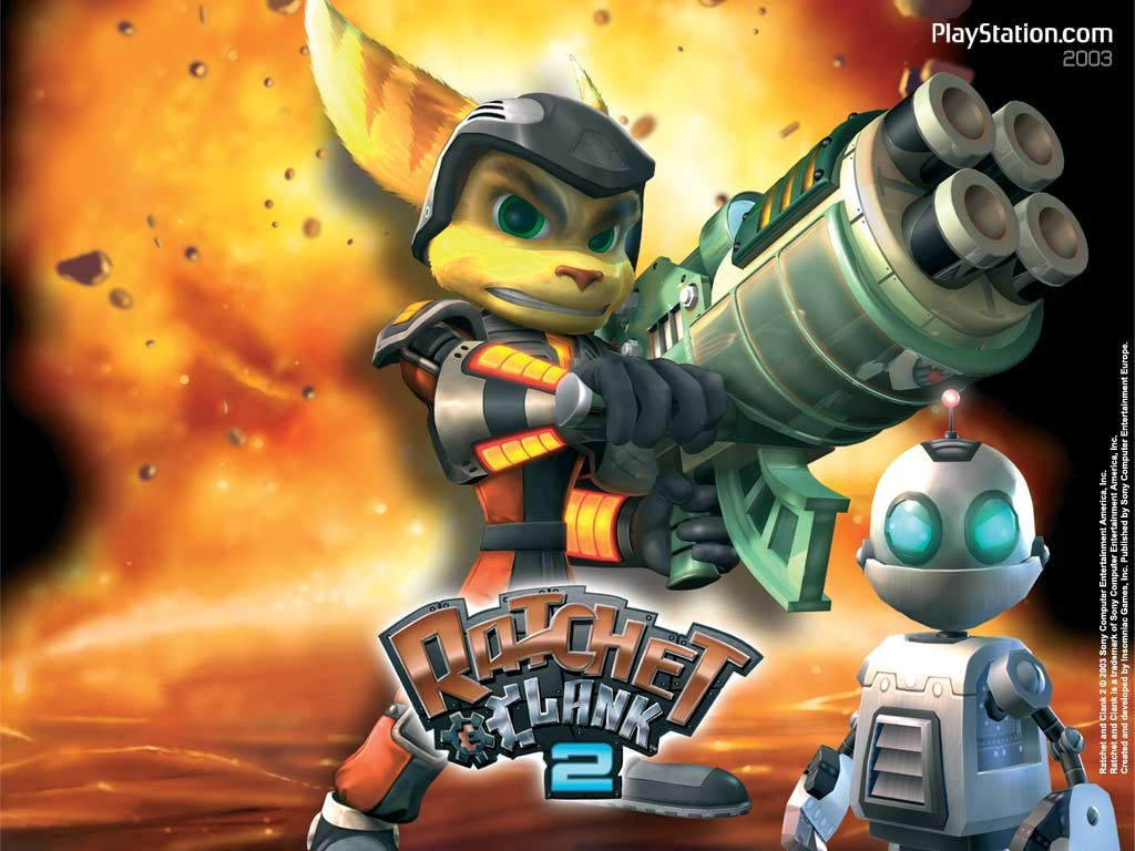 Thread Jak and Daxter and Ratchet and Clank  The Franchises 1024x768