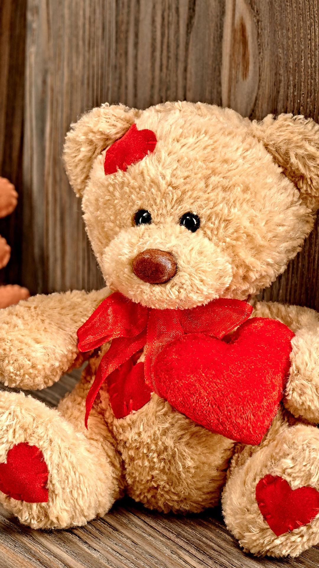 Teddy Bear Love Wallpaper Wallpapersafari