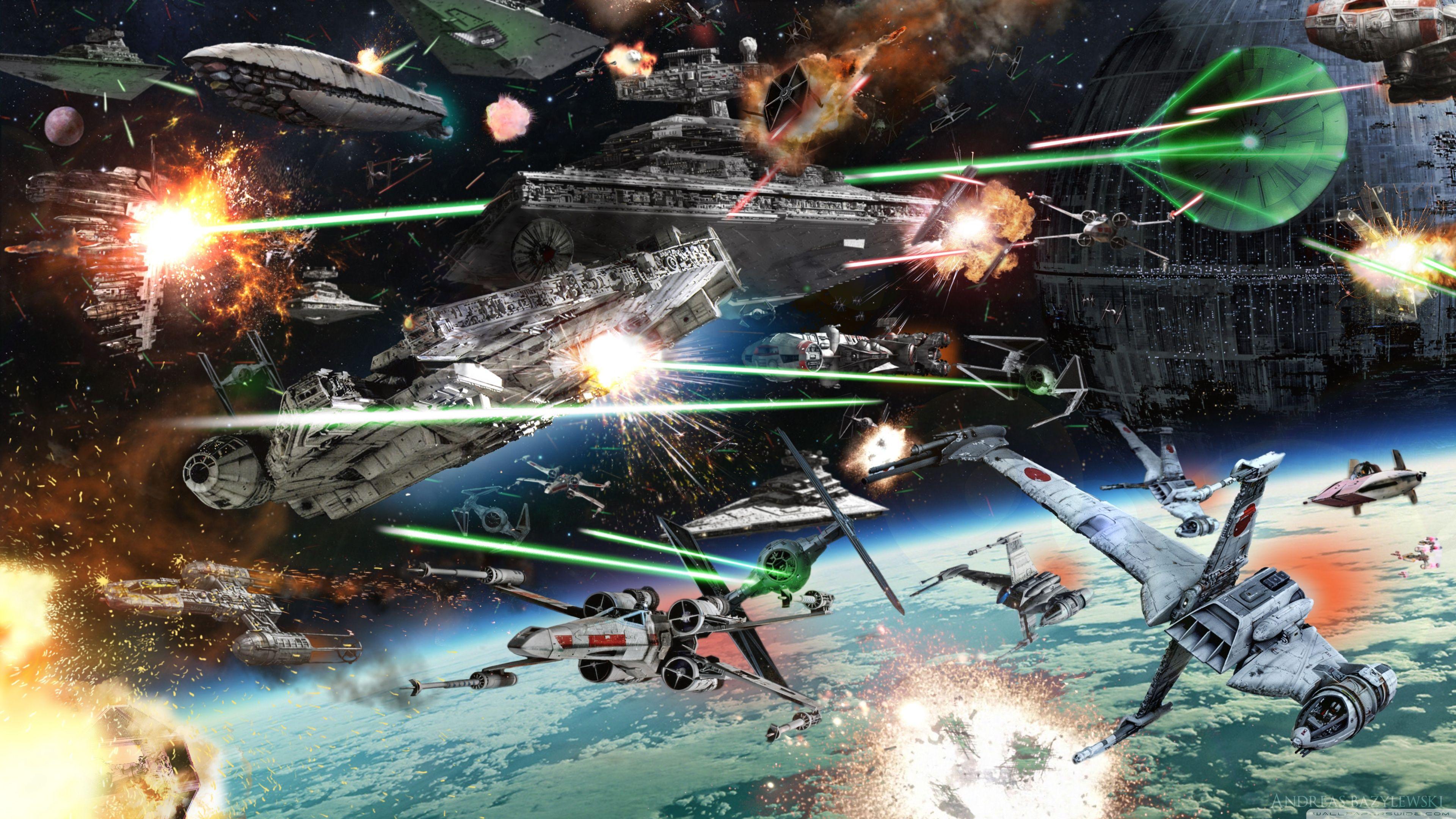 Star Wars Battle Wallpapers   Top Star Wars Battle 3840x2160