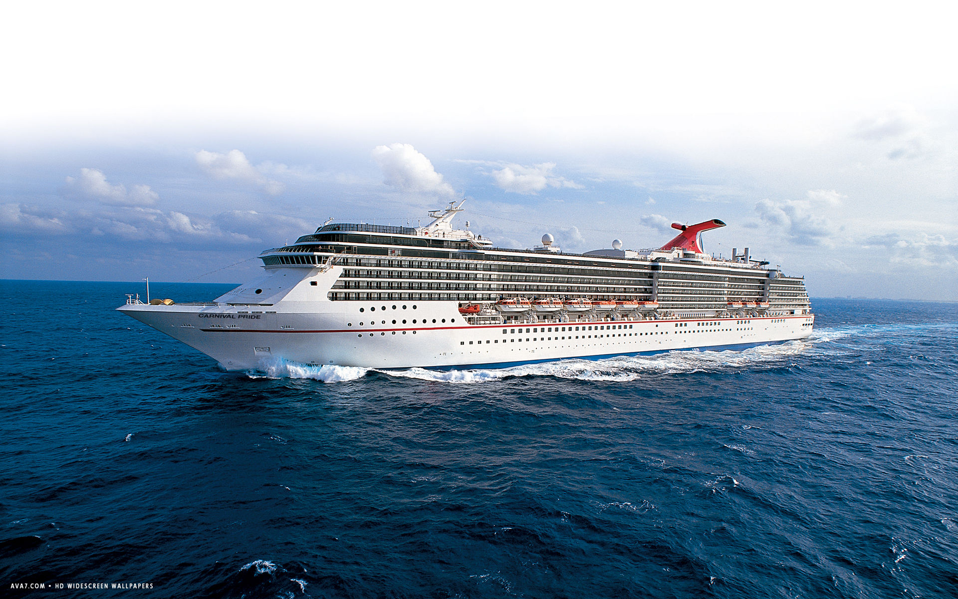carnival pride cruise ship hd widescreen wallpaper cruise ships 1920x1200