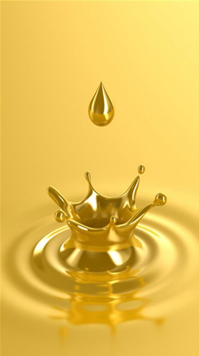 Liquid Gold iPhone Wallpapers iPhone 5s4s3G Wallpapers 636x1136