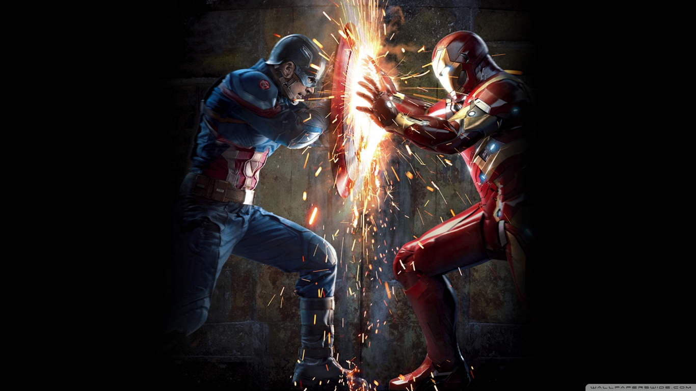 Captain America Civil War HD Wallpapers 1366x768