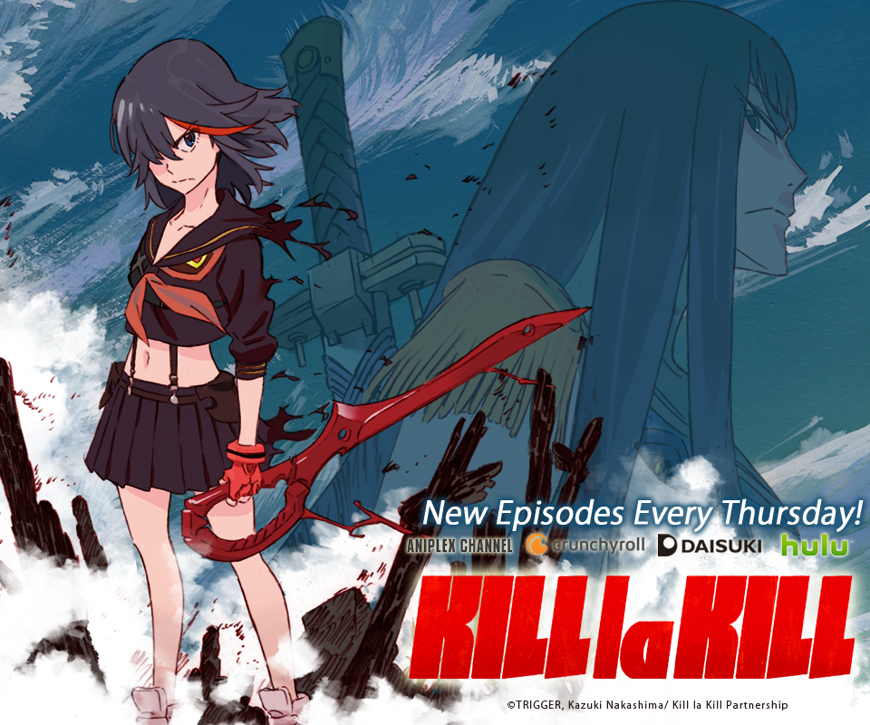 SPECIAL Kill la Kill USA Official Website 960x800