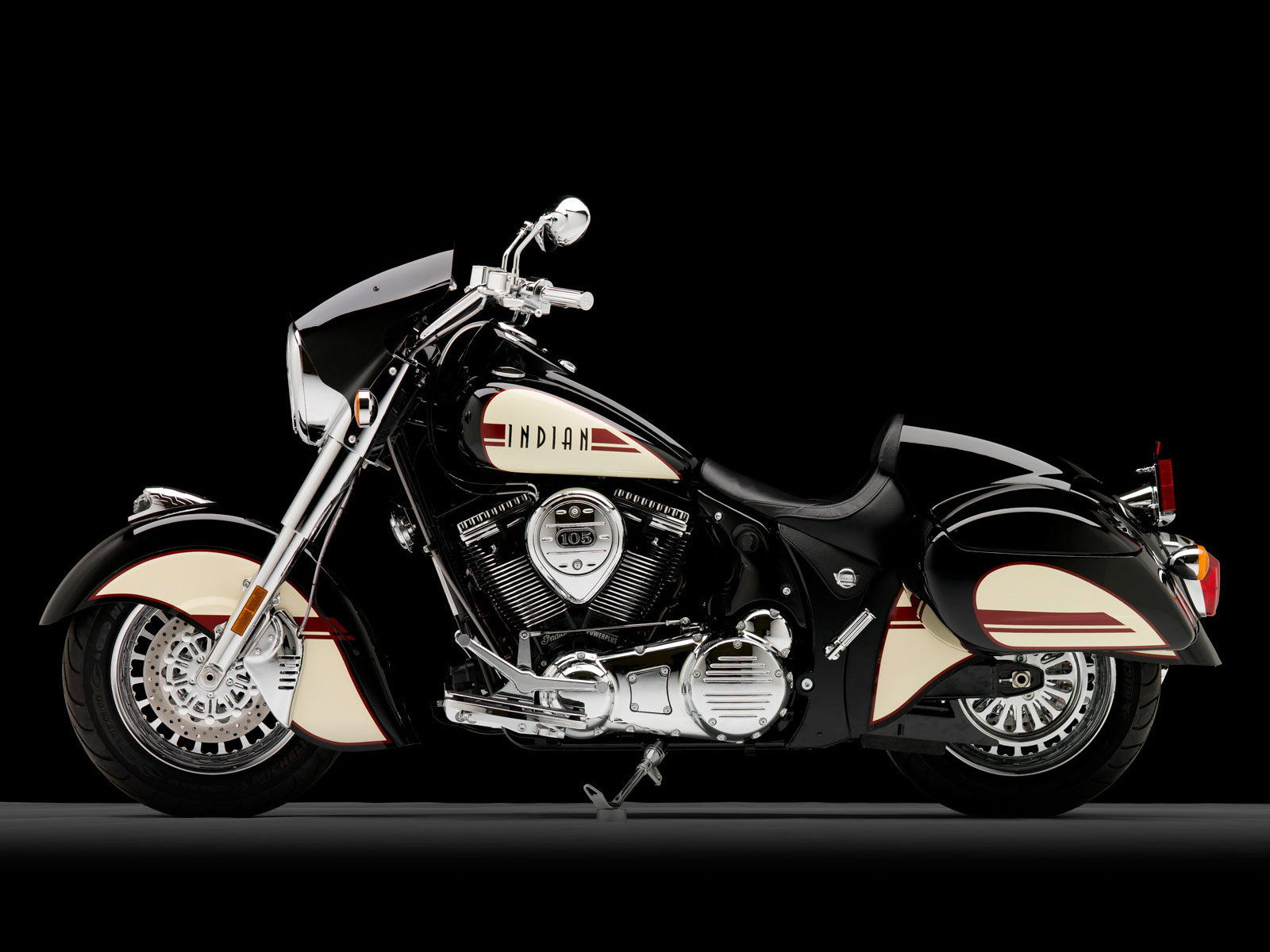 2011 Indian Chief Black Hawk motorcycle desktop wallpaper 1jpg 1600x1200