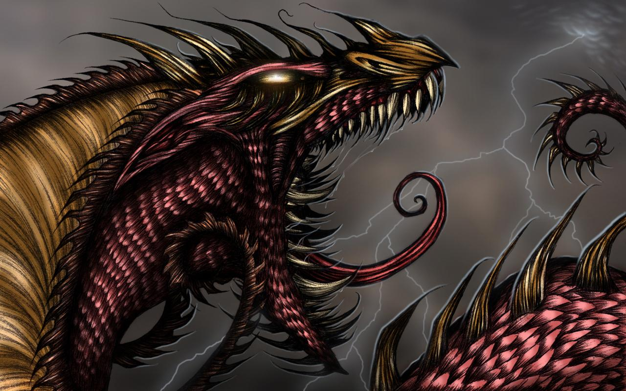 Dark Evil Dragons Wallpaper Download HD Idiot Dollar 1280x800