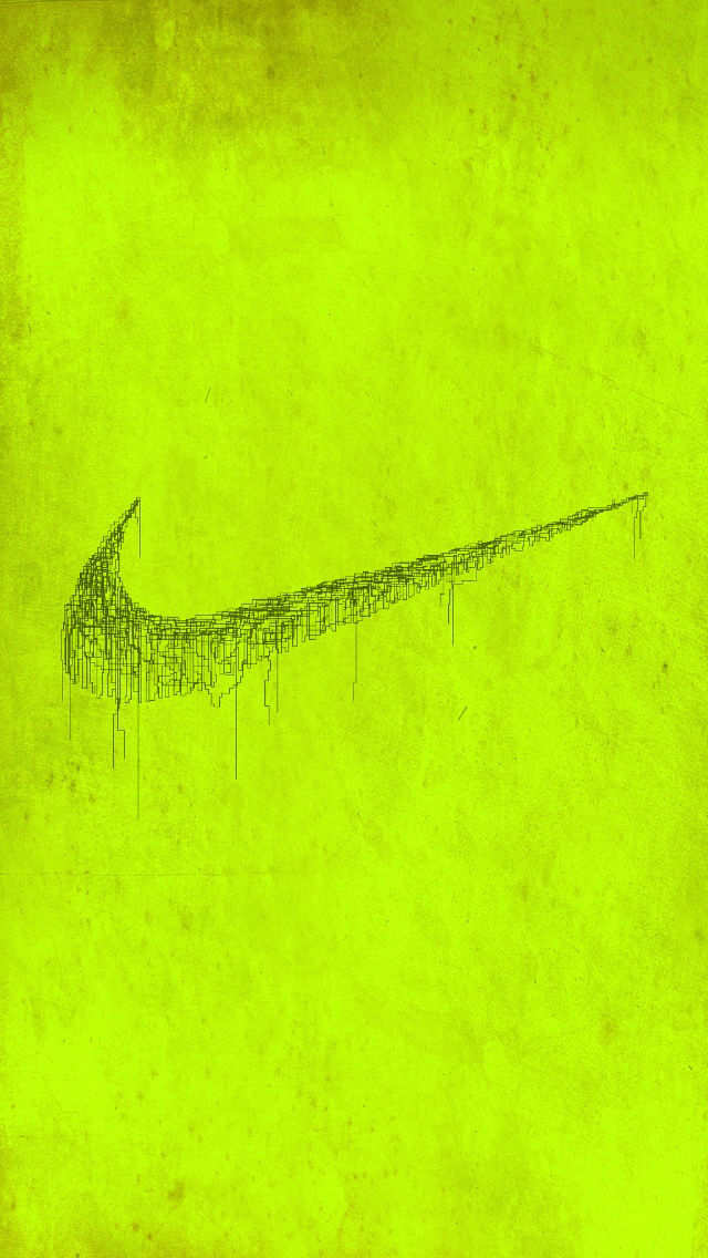 Nike Volt Green iPhone 5 Wallpaper 640x1136 640x1136