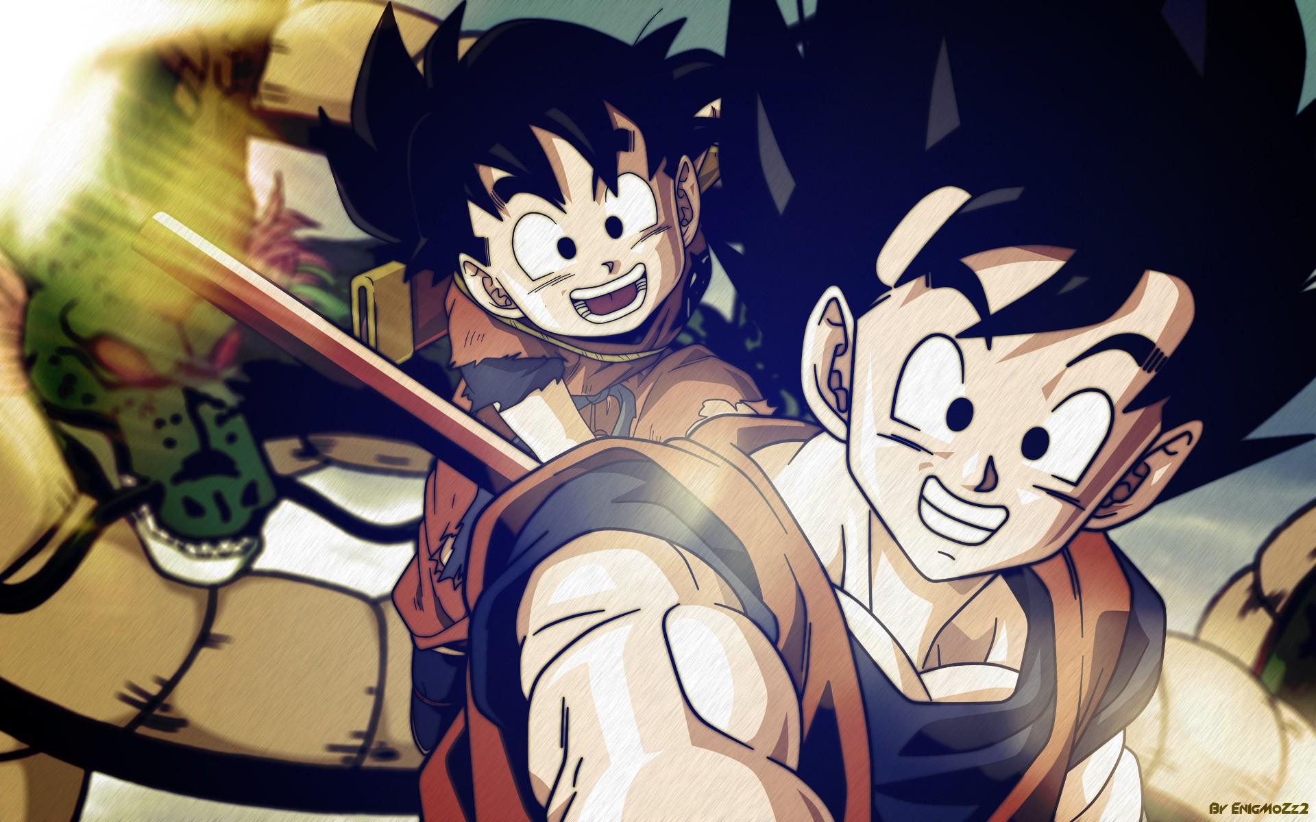 Dragon Ball Z Goku Gohan Wallpaper HD 4451 Wallpaper ForWallpapers 1920x1200