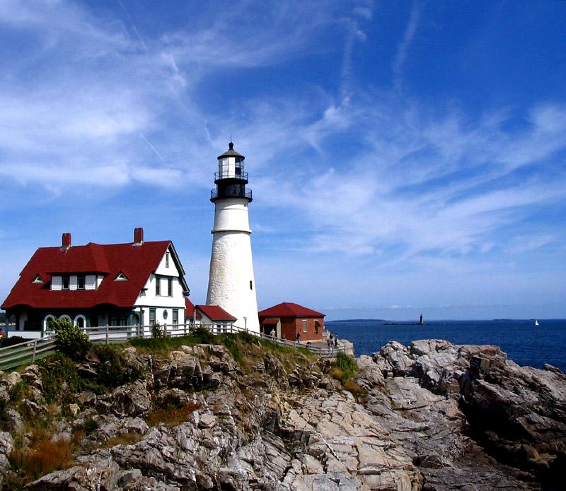 Maine Lighthouse Wallpaper