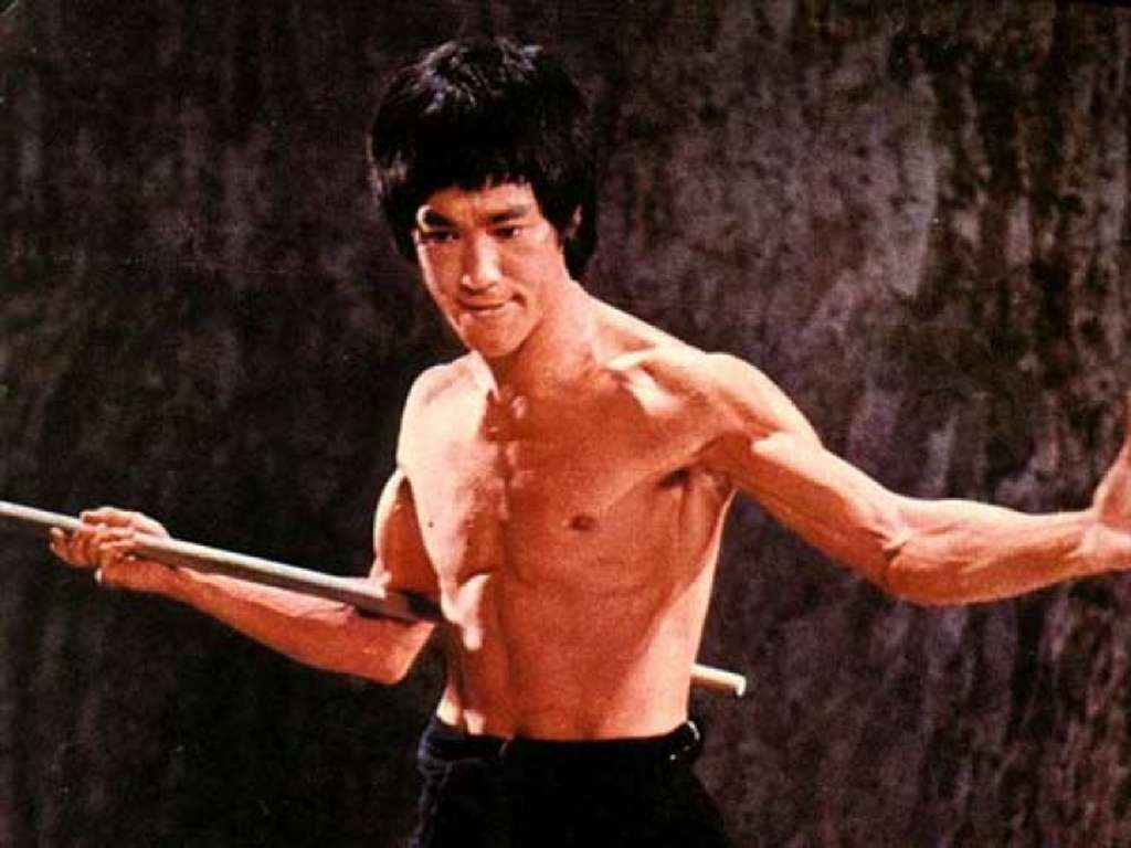 Free Download Wallpapers Photo Art Bruce Lee Wallpapers 1024x768