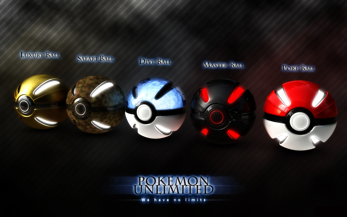 Pokeball Selection Wallpapers Pokeball Selection Myspace Backgrounds 1440x900