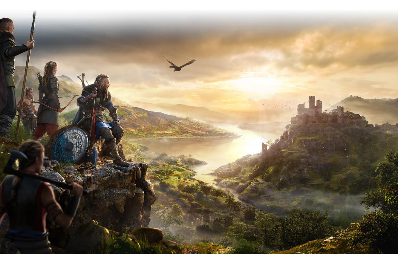 Wallpaper Assassins Creed Ubisoft Montreal 2020 Valhalla 1332x850