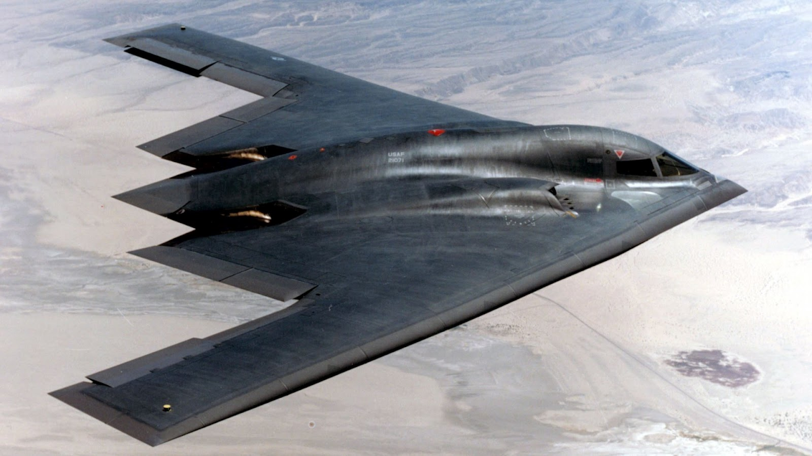 Stealth Bomber Wallpaper 1600x900