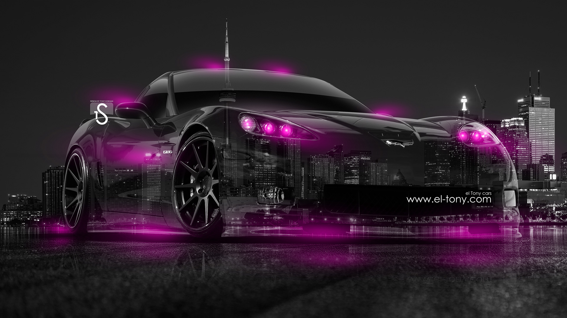 1920x1080 4k Chevrolet Camaro Muscle Side Kiwi Aerography Car 2014 | HD  Walls .
