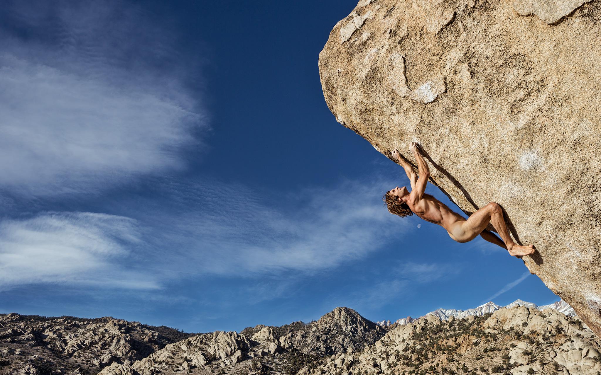Climber Nation grab a seat its Chris Sharma Nude Alert 2048x1280