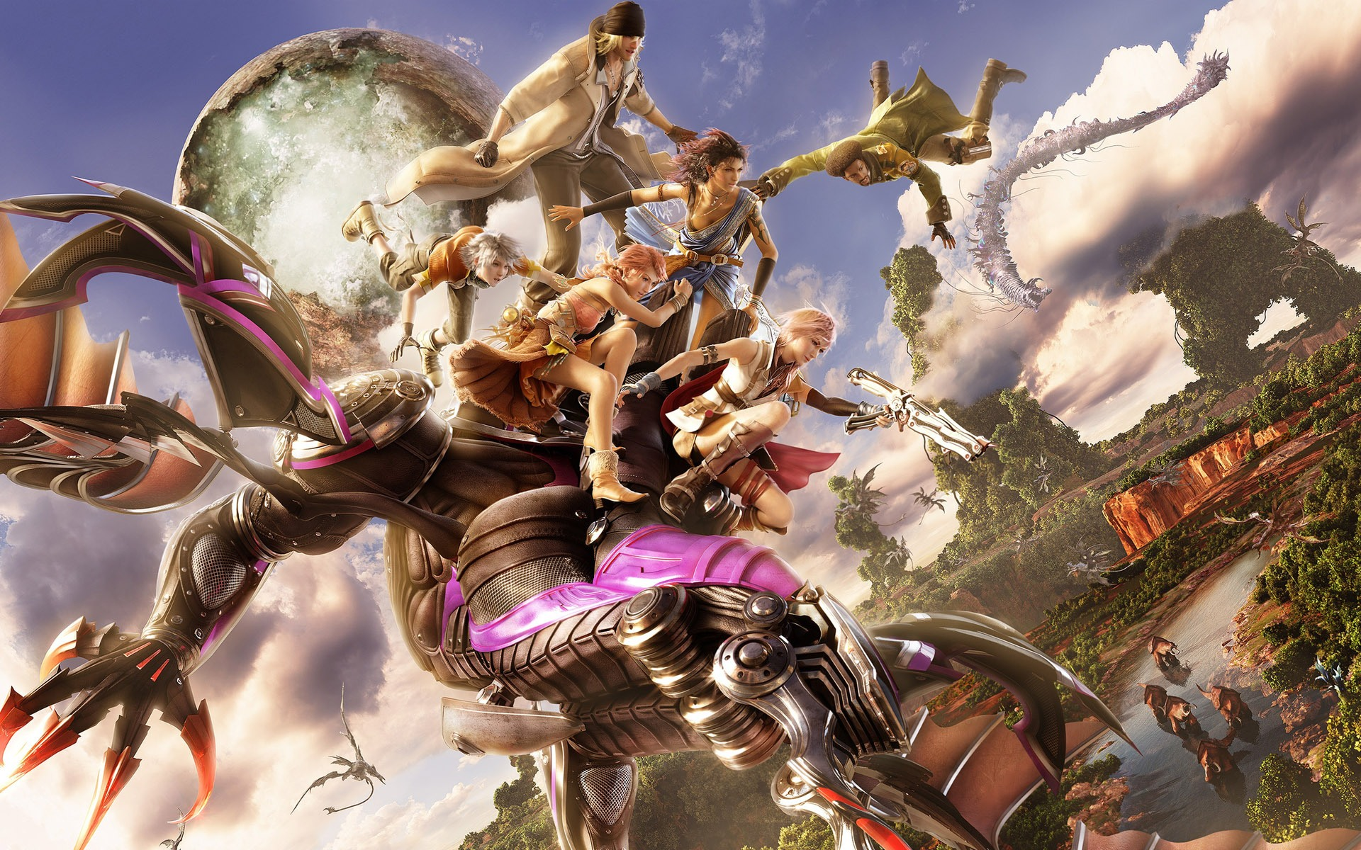 Final Fantasy XIII desktop wallpaper 1920x1200