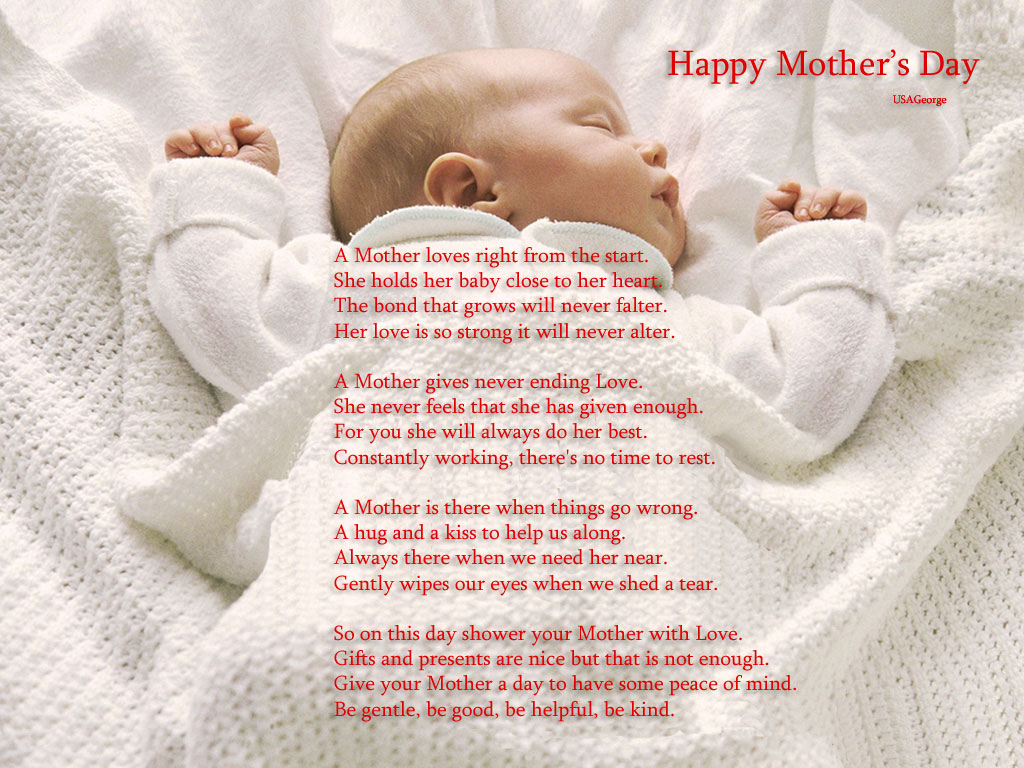 Desktop Wallpapers Backgrounds Mothers day wallpapers for 1024x768