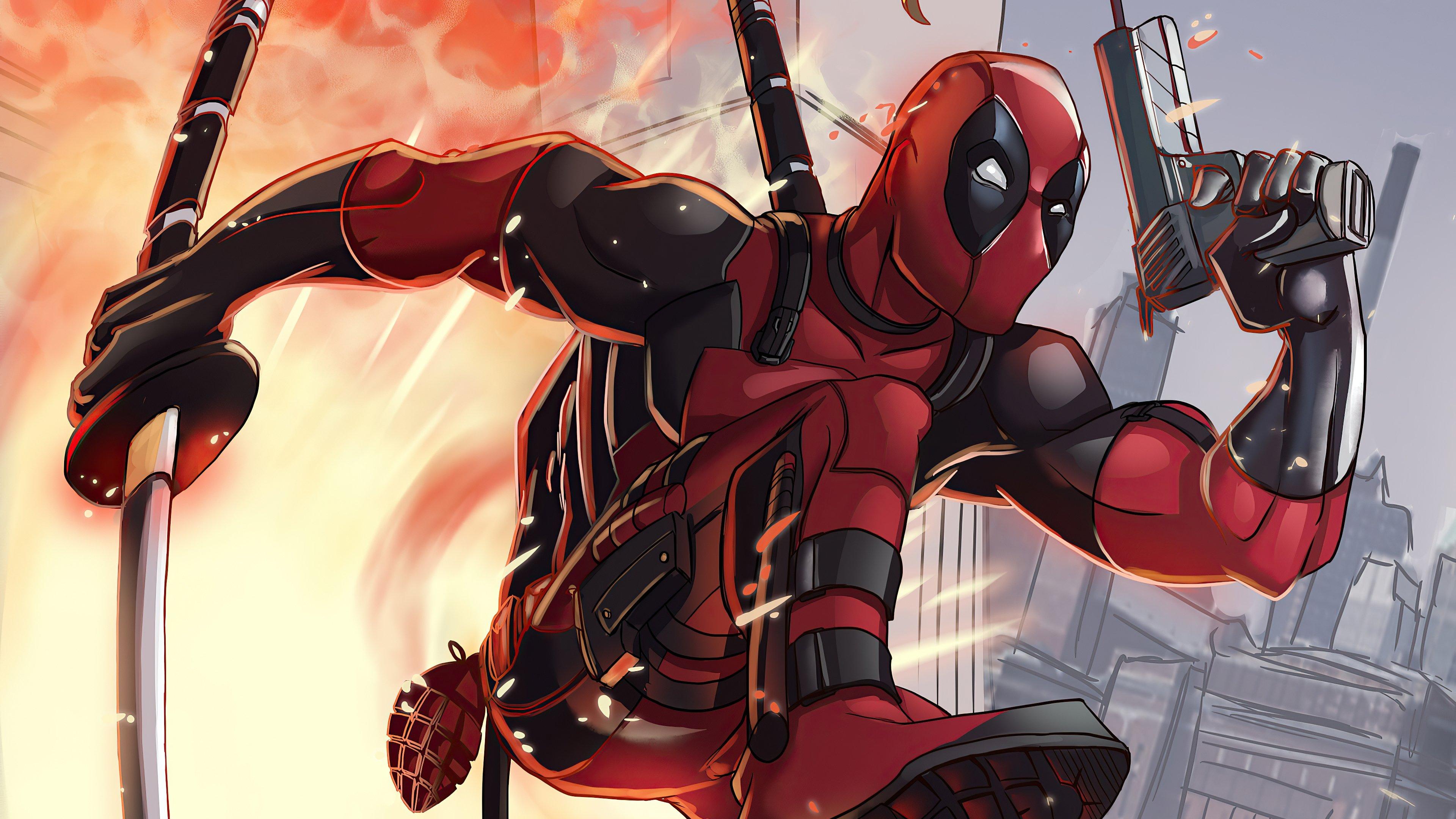 9 Deadpool HD Wallpapers Backgrounds 3840x2160