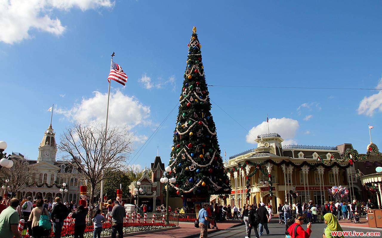 Christmas Decorations The Magic Kingdom Christmas Tree 1280x800