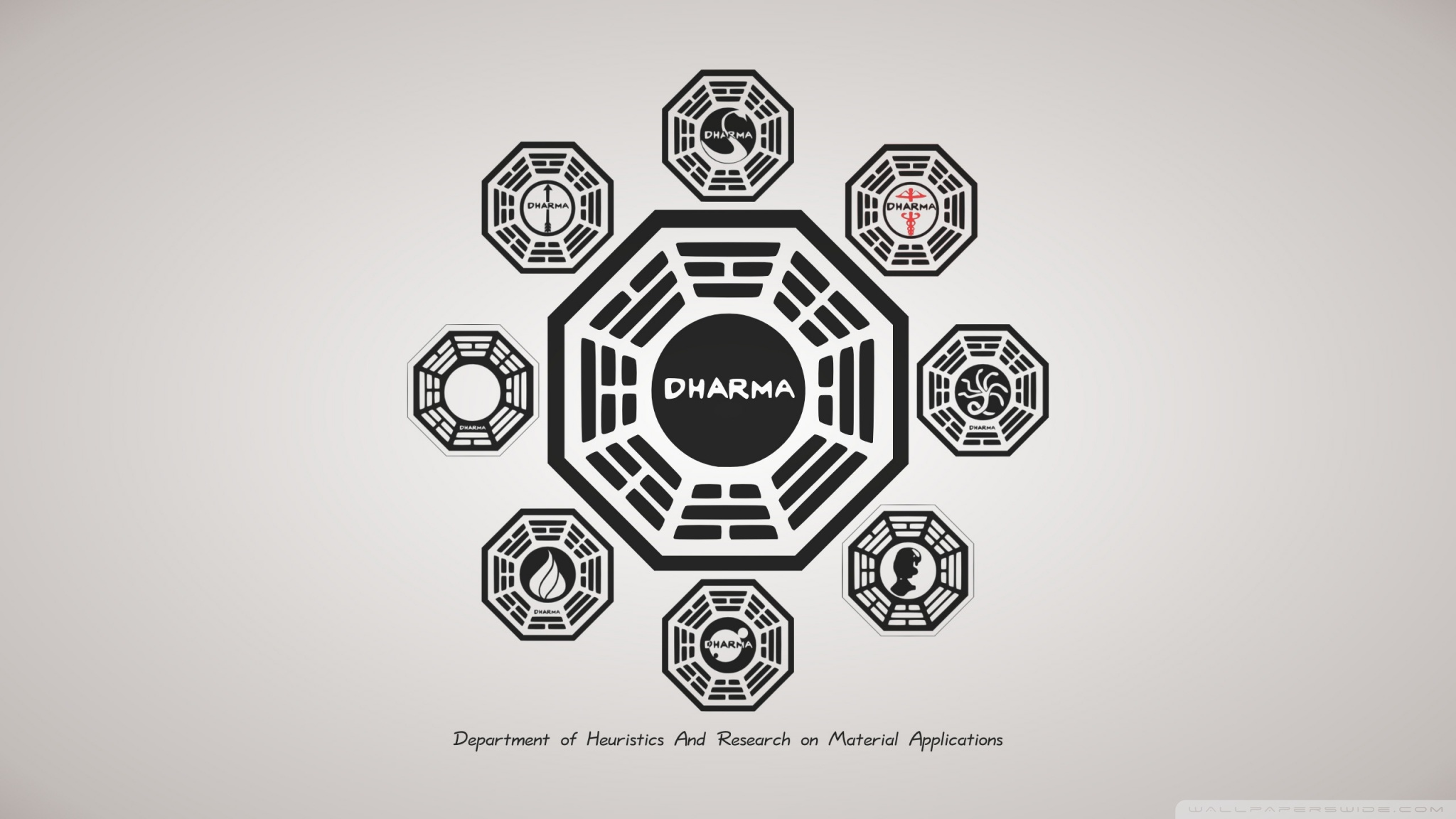 Lost TV Series Dharma 4K HD Desktop Wallpaper for 4K Ultra HD 2048x1152