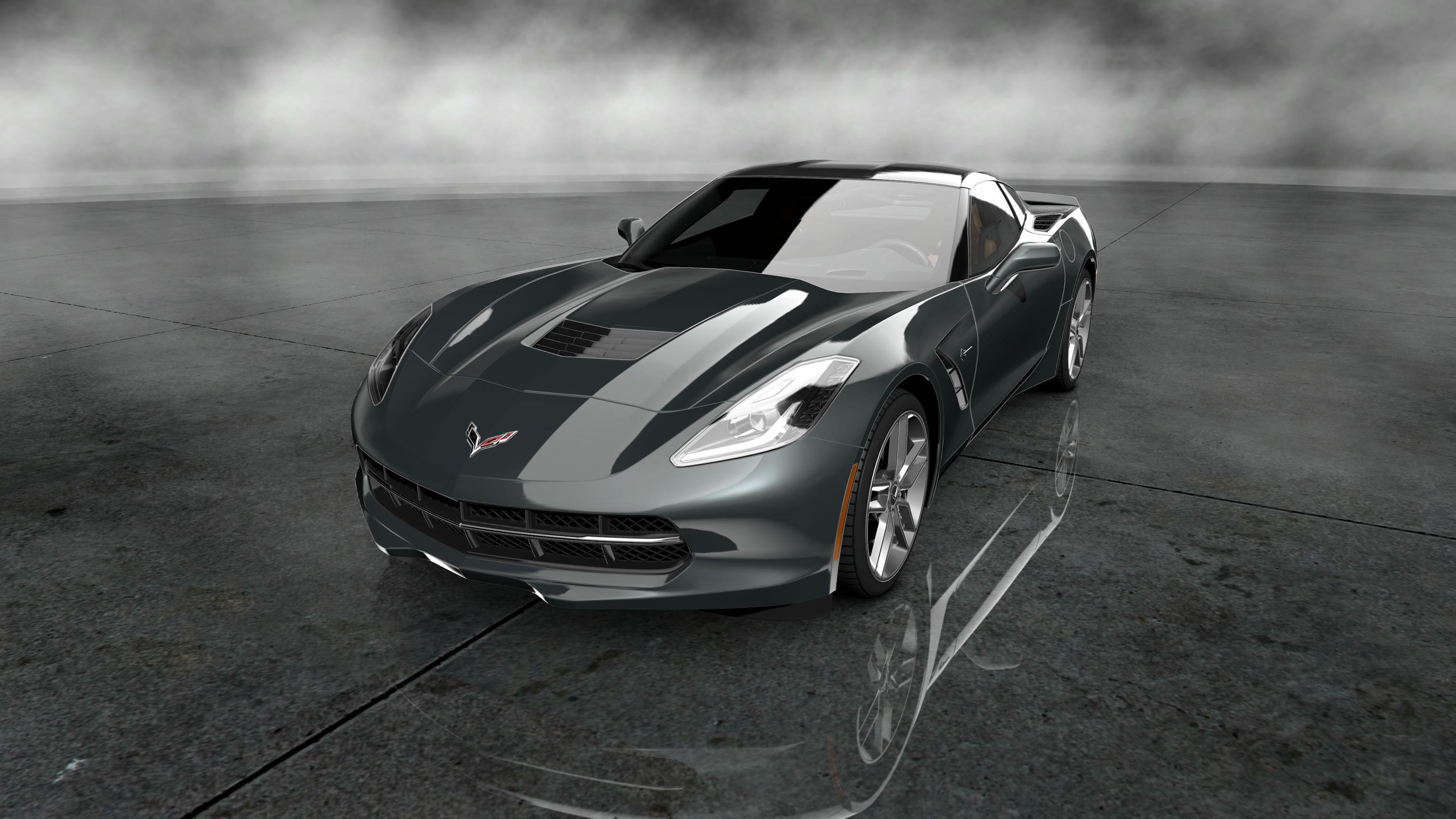 free download 2014 Corvette Stingray Wallpaper For Desktop 3072x1728