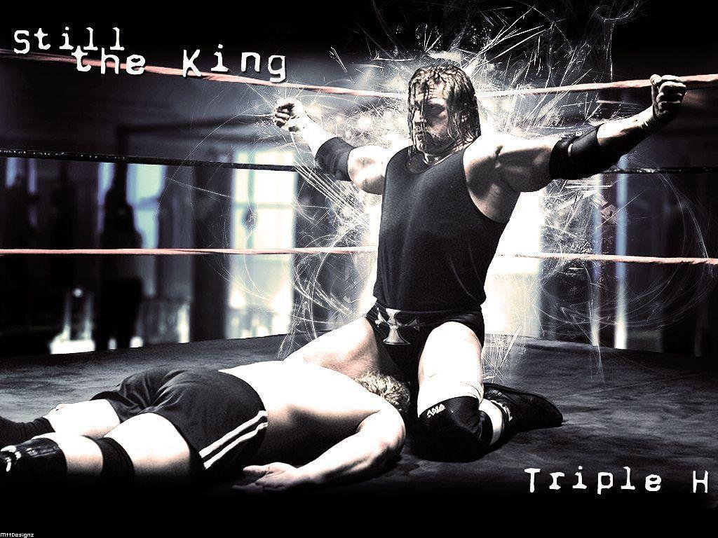Triple H The King Of Kings Wallpapers 1024x768