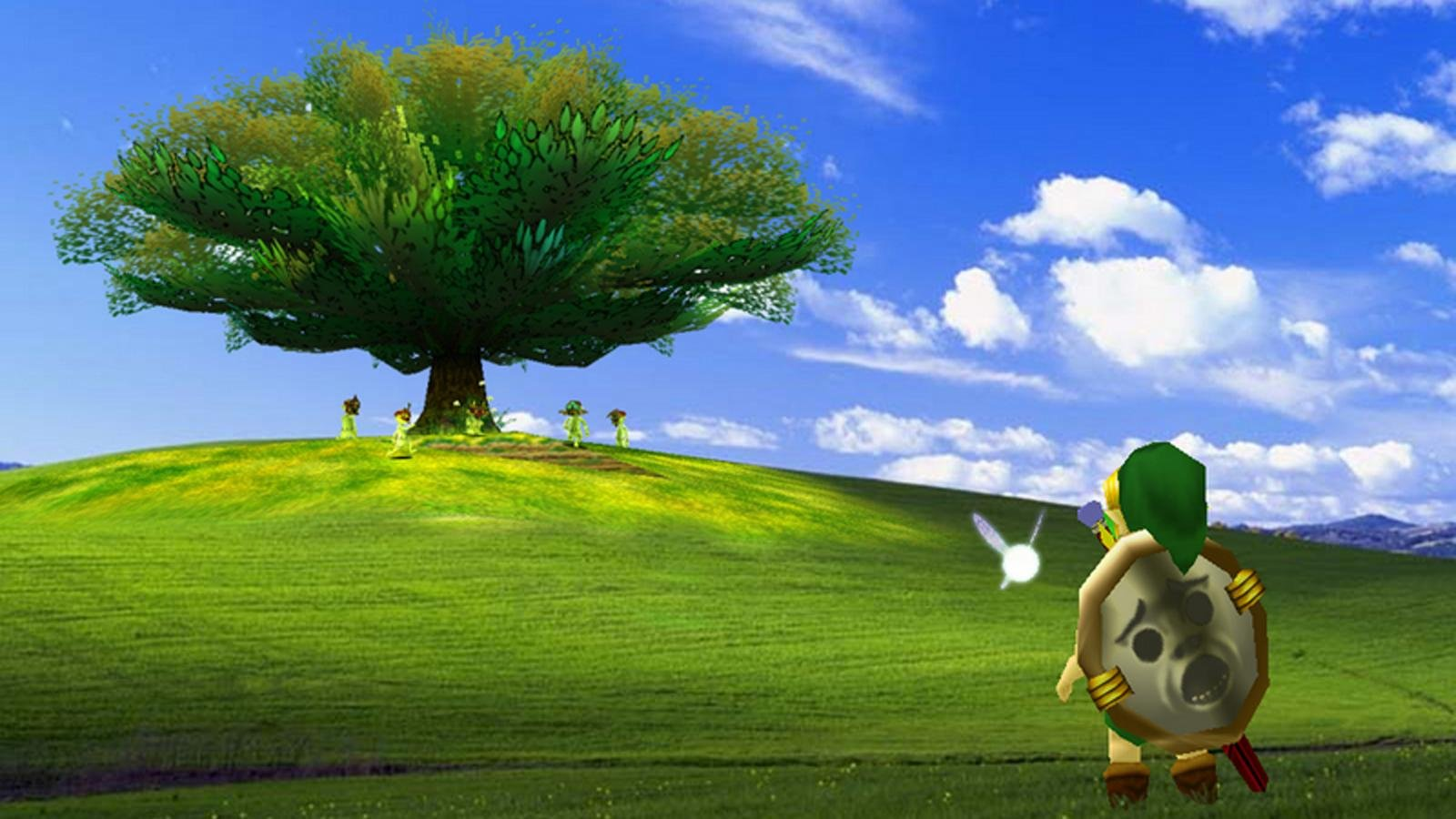 The 13 Best Takes On the Windows XP Bliss Wallpaper   Dorkly Post 1600x900