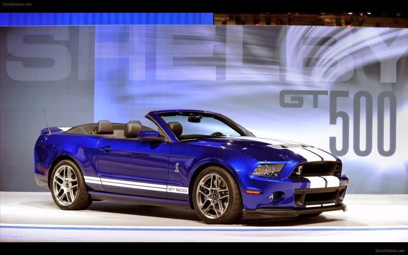 2014 Ford Mustang Shelby GT500 Convertible 800x500