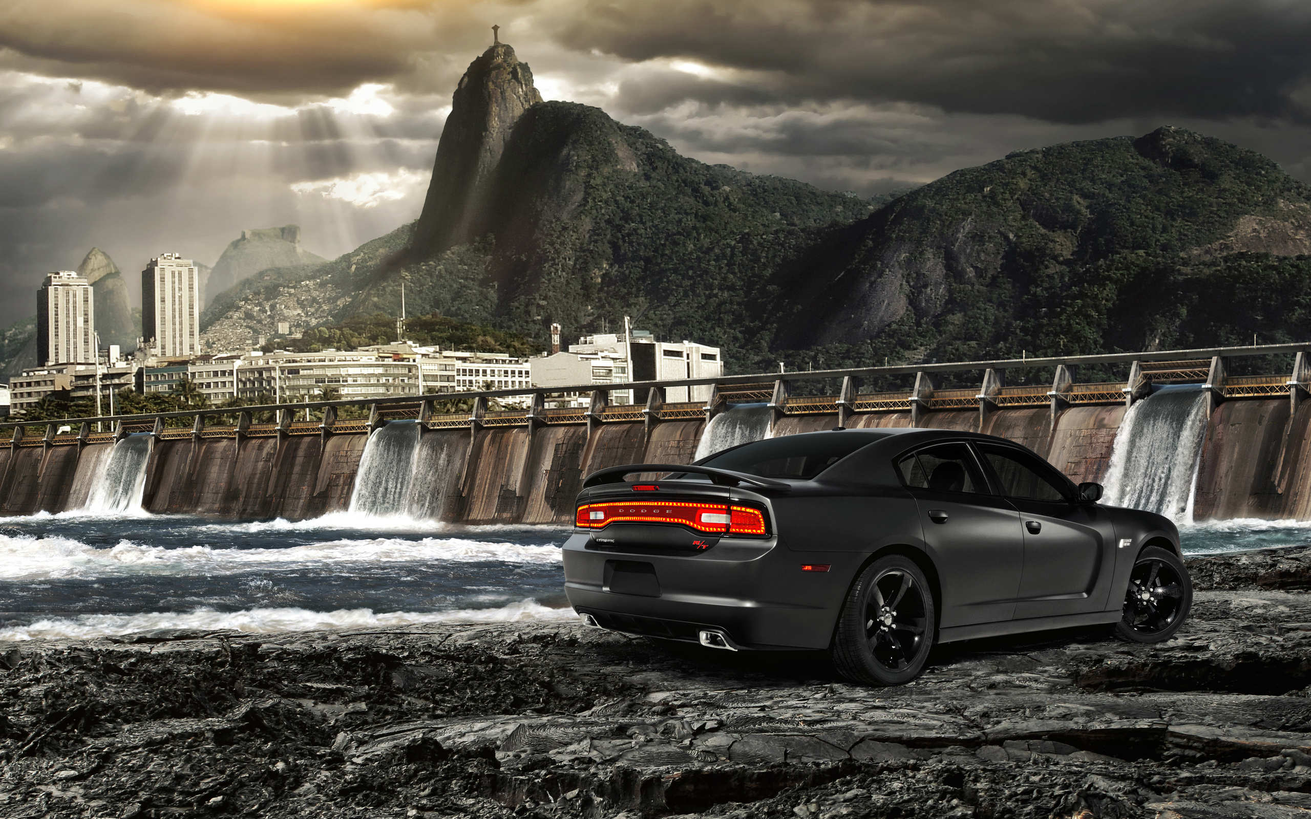 2560x1600px Black Dodge Charger Wallpaper Wallpapersafari