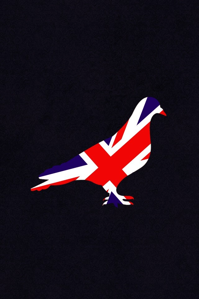 Free Download Logobird Uk Themed Iphone 4 Wallpaper 640x960