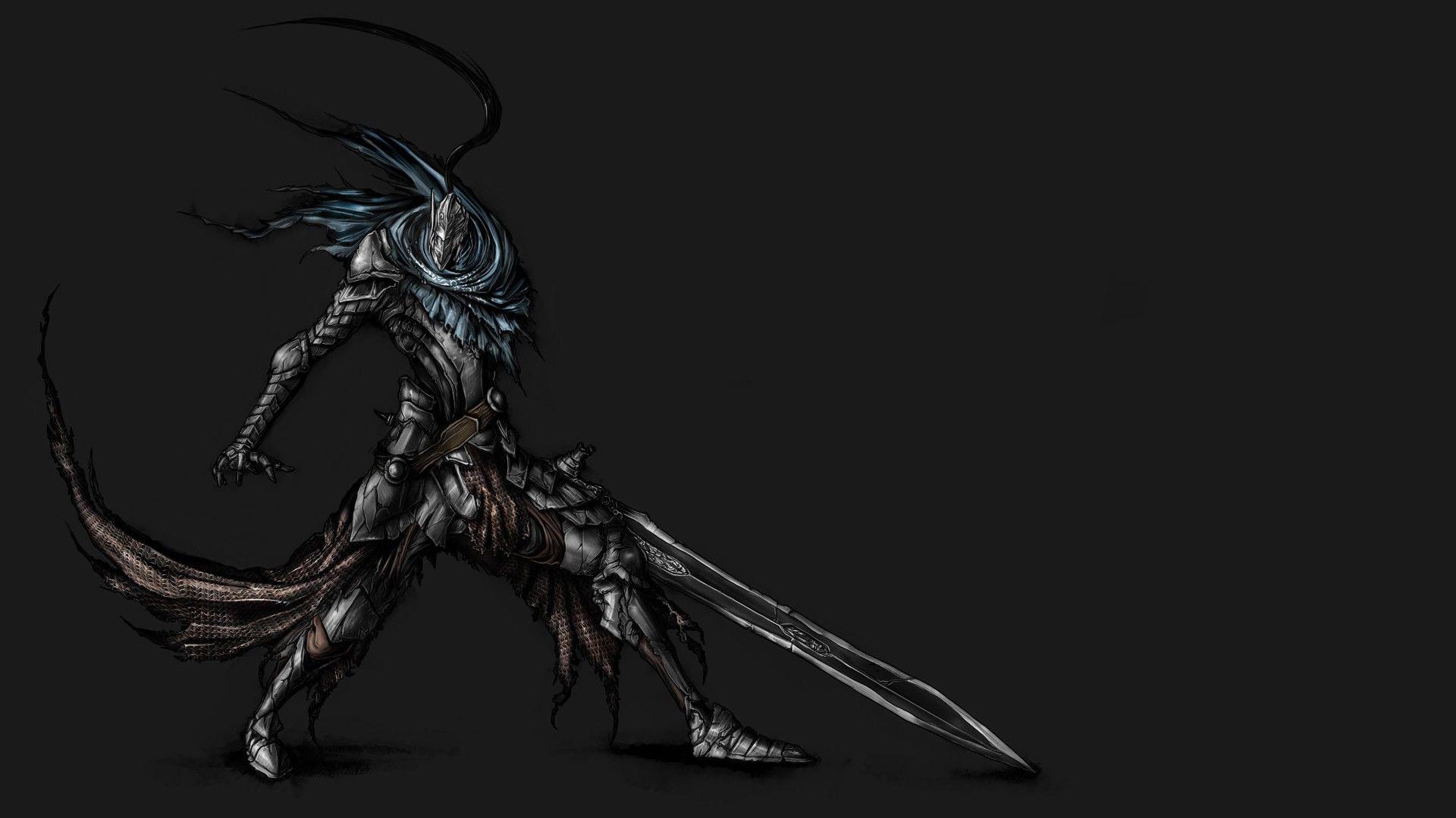 49 Dark Souls Black Knight Wallpaper On Wallpapersafari