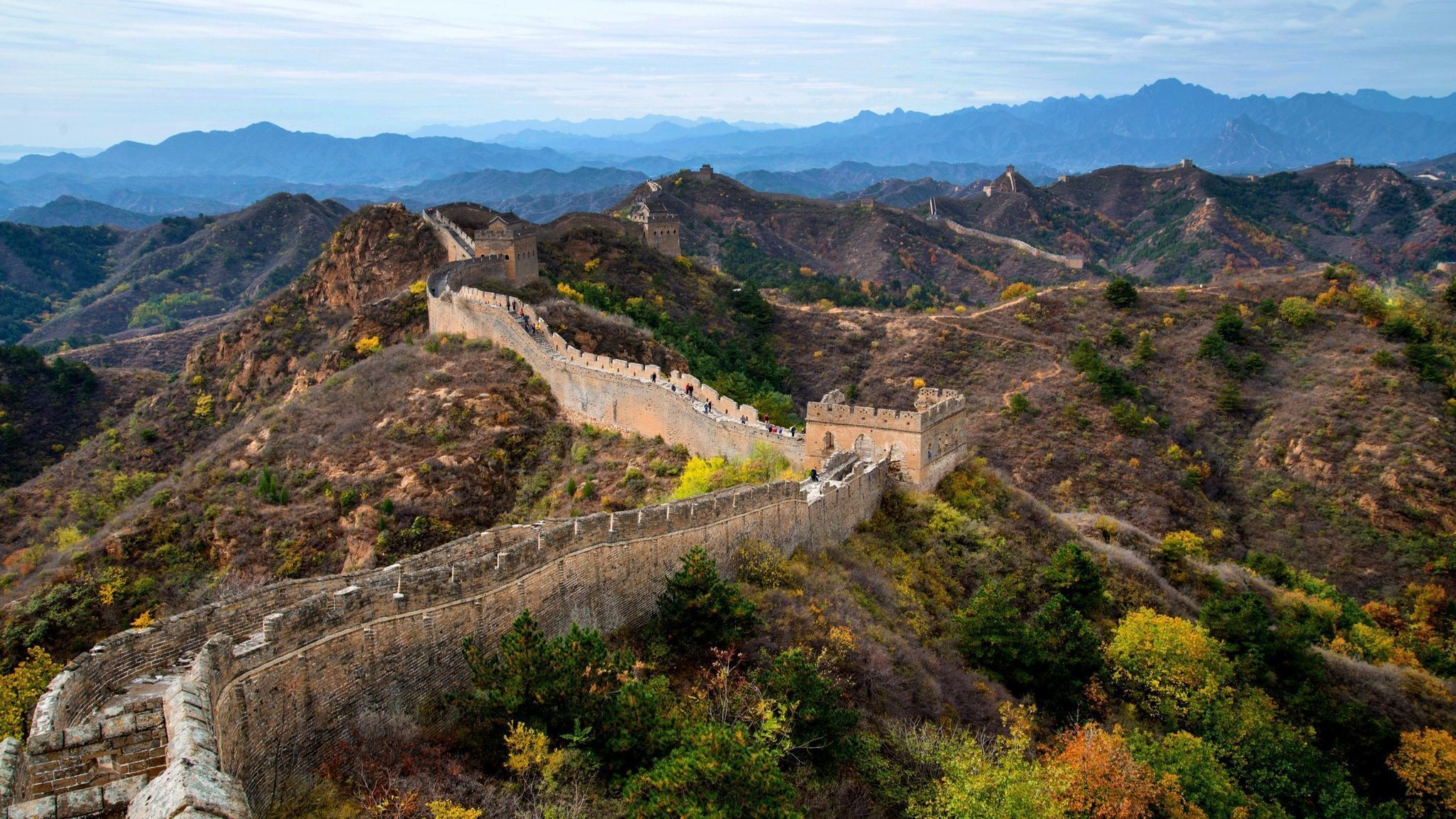 The Great Wall of China Wallpaper 51 images 2048x1152