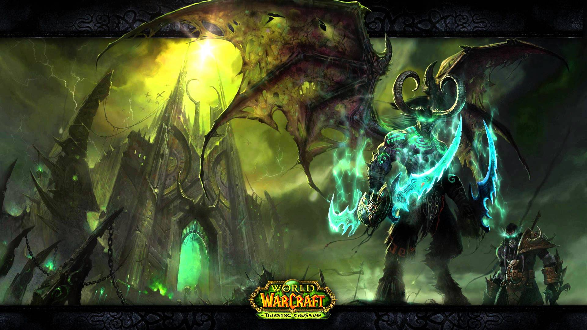 Free Download World Of Warcraft Illidan And The Black Temple