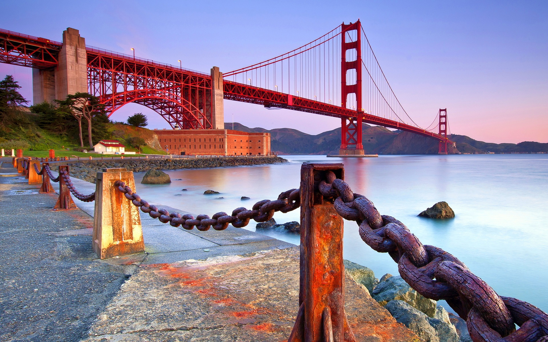 Golden Gate Bridge San Francisco Wallpaper 1920x1200