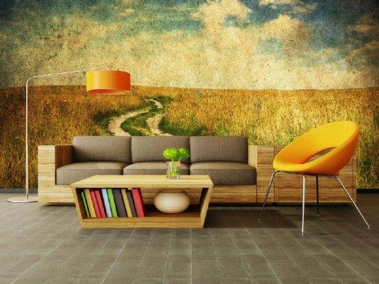 Farm Theme Wallpaper Murals Inside the Home Pinterest 550x412