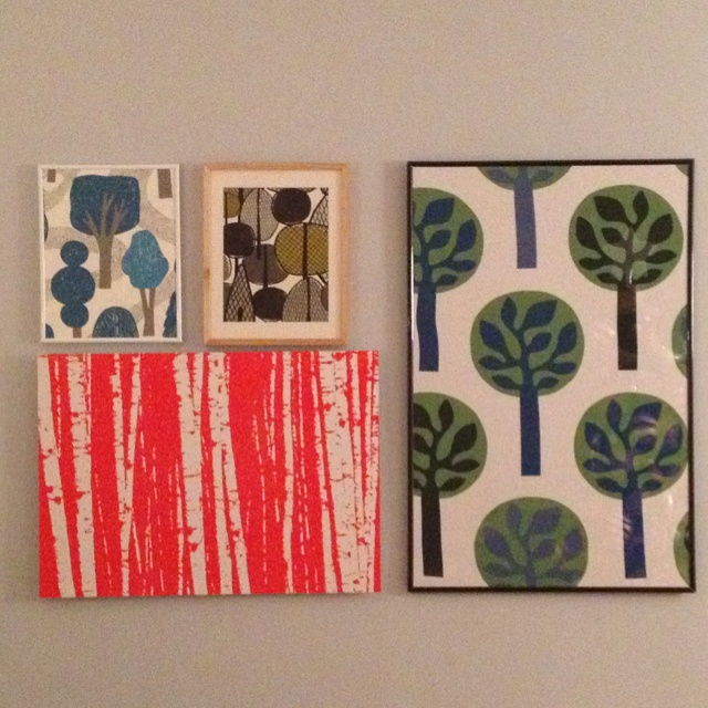 Ikea and wallpaper samples My Style Pinterest 640x640
