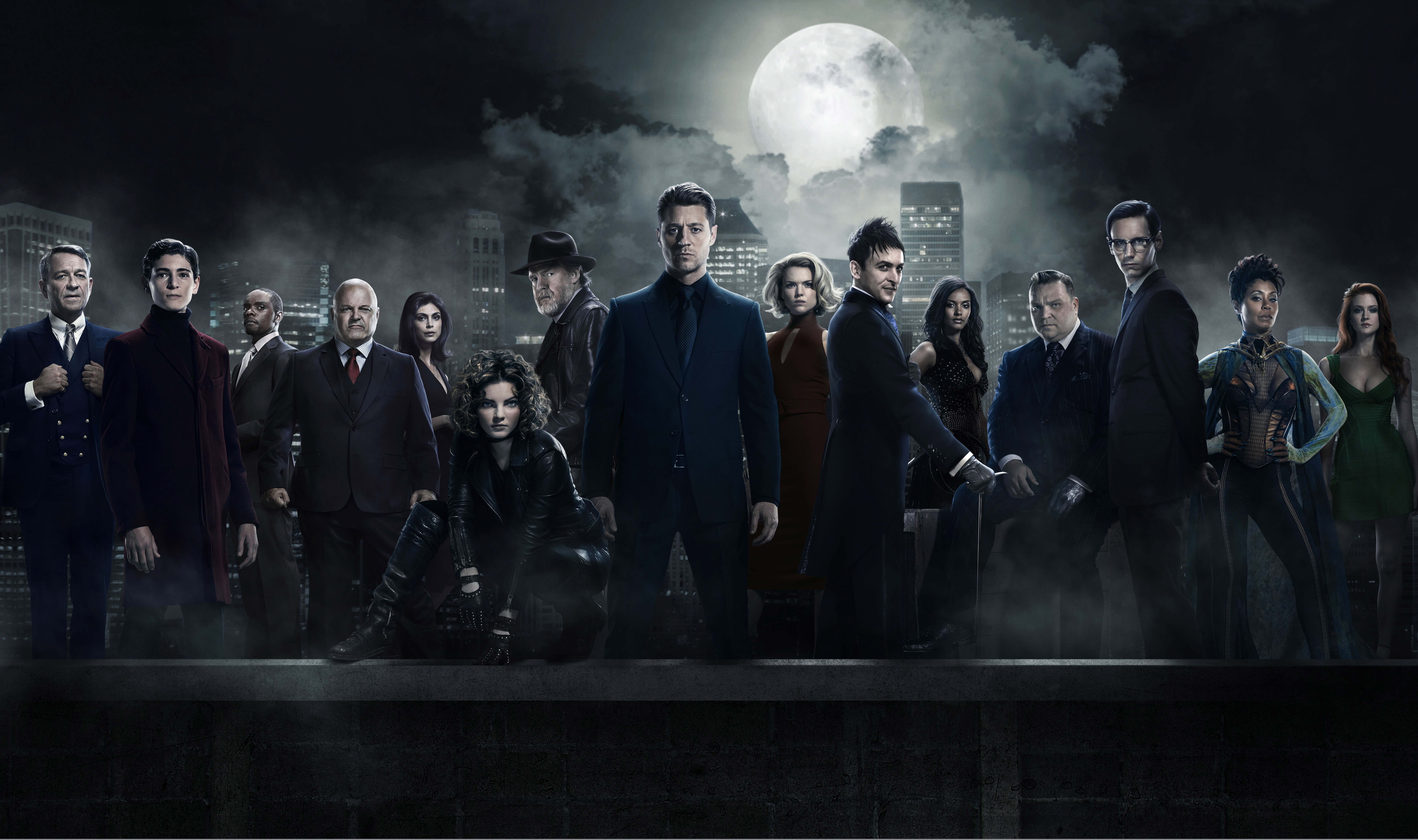 94 Gotham HD Wallpapers Background Images 9213x5459