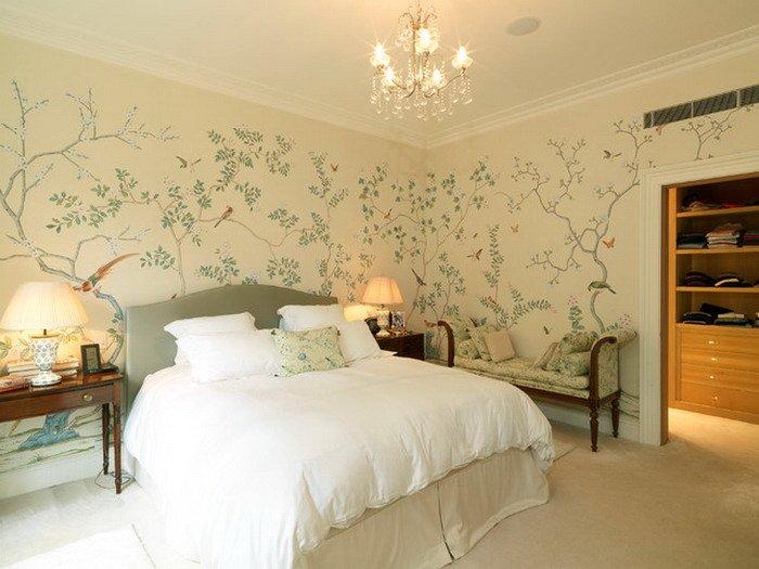 30 Best Diy Wallpaper Designs for Bedrooms UK 2015 700x525