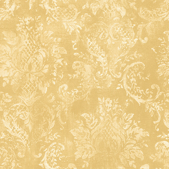 Traditional Damask Wallpaper Yellow 1 5 Bolts   This wallcovering is 550x550