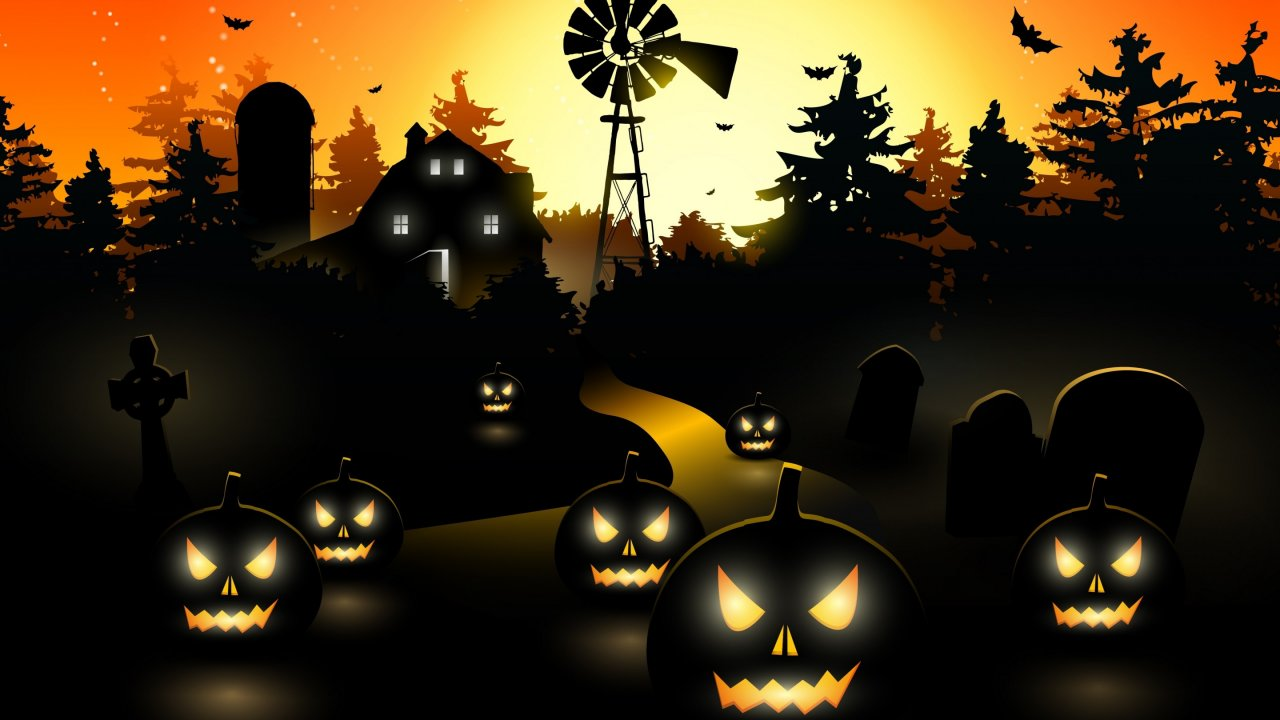 Pictures Download Halloween Wallpaper Desktop Wallpapers High 1280x720