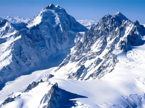 Download Winter Mountain Wallpaper and Backgrounds 500x375