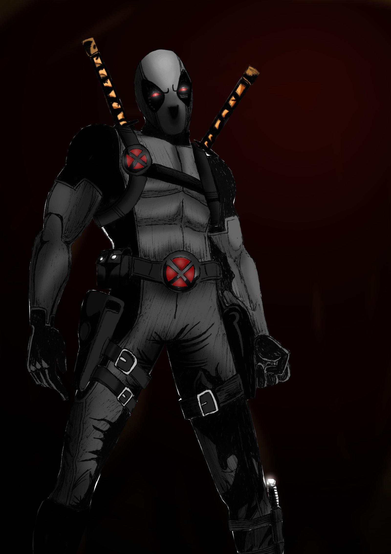Deadpool X Force Variant by SicSlipknotMaggot 1600x2267