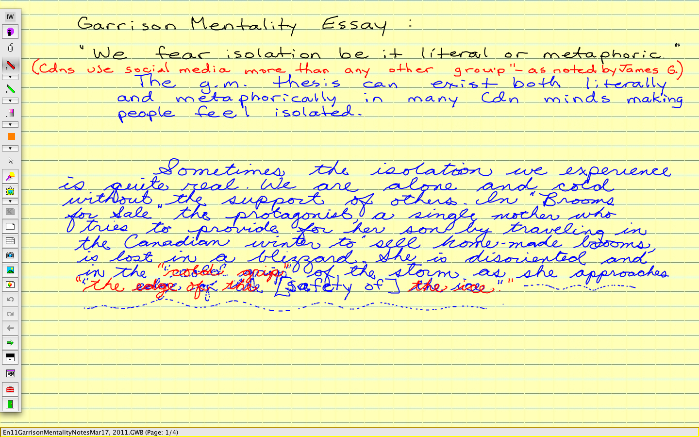 the yellow wallpaper essay example Argumentative essay the yellow wallpaper the main plot for example, is extremely similar in both versions john, one of the main characters.