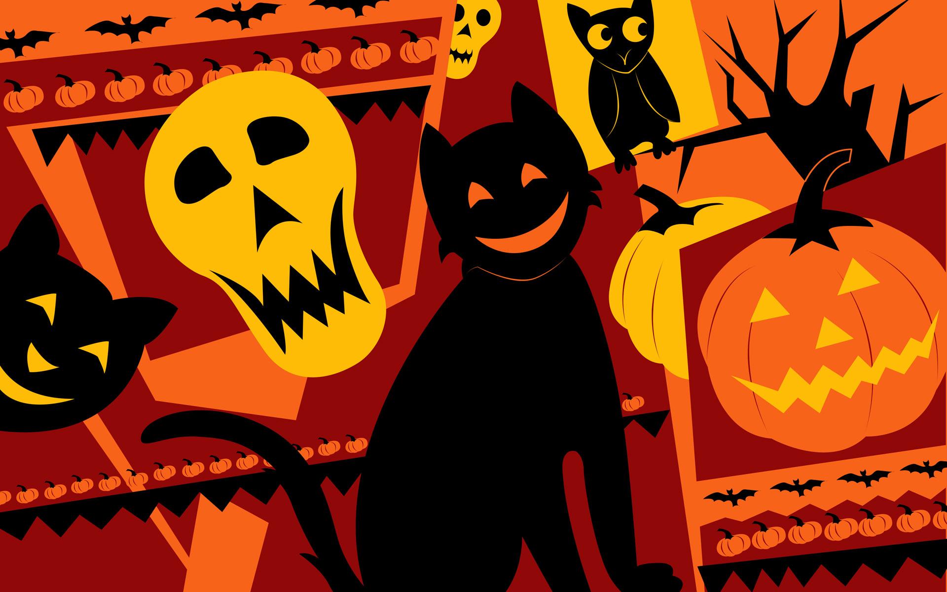 Download Hello Kitty Halloween Wallpapers 1920x1200