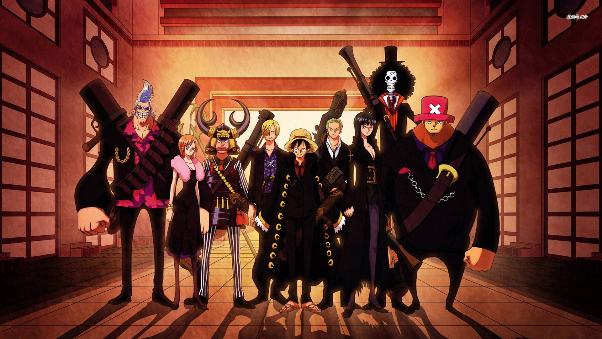 One Piece Crew Wallpapers 1920x1080