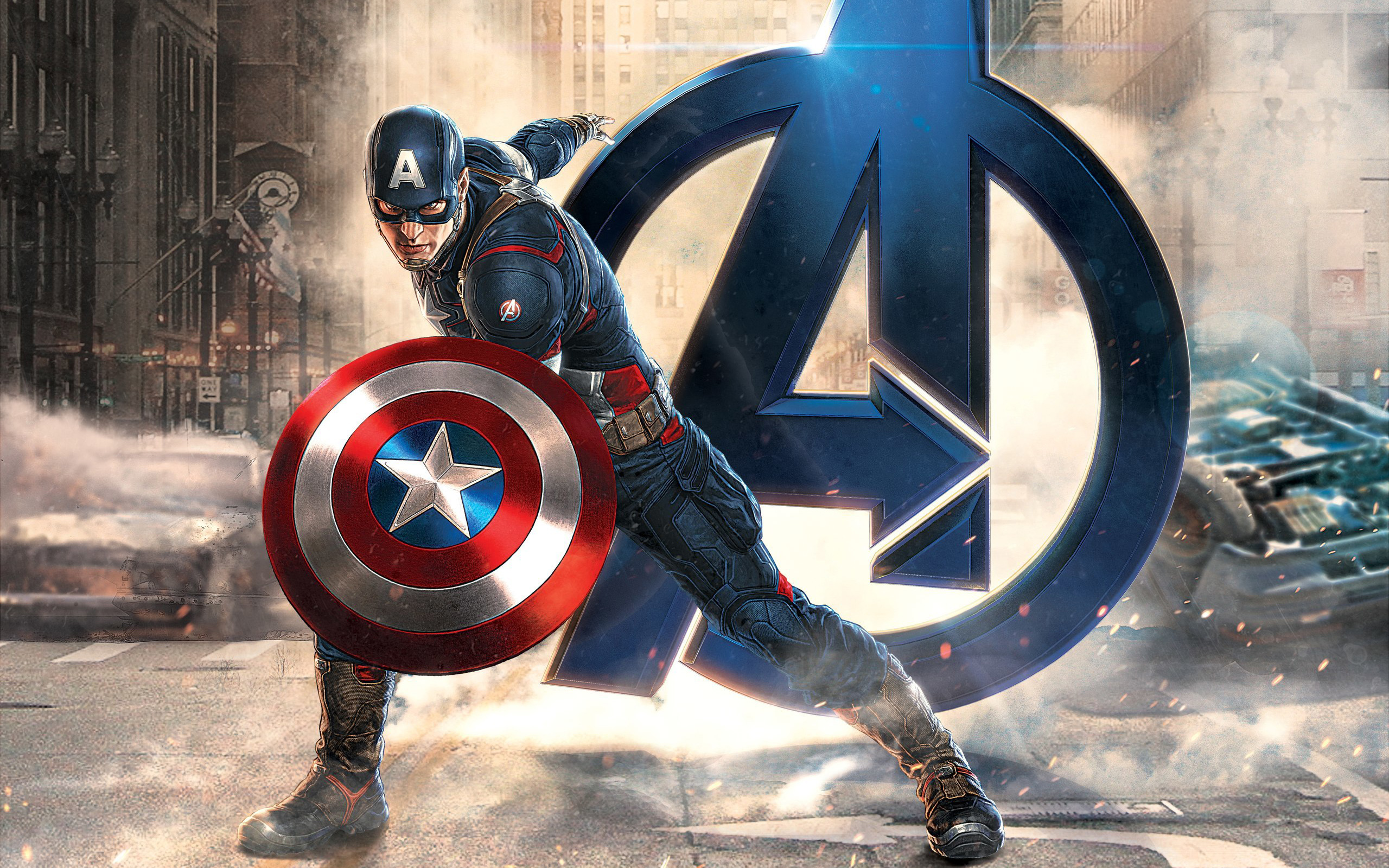 Captain America Avengers HD Wallpaper HD Wallpapers Pal 2560x1600