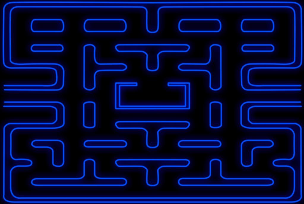 Pac man maze w 1024x688
