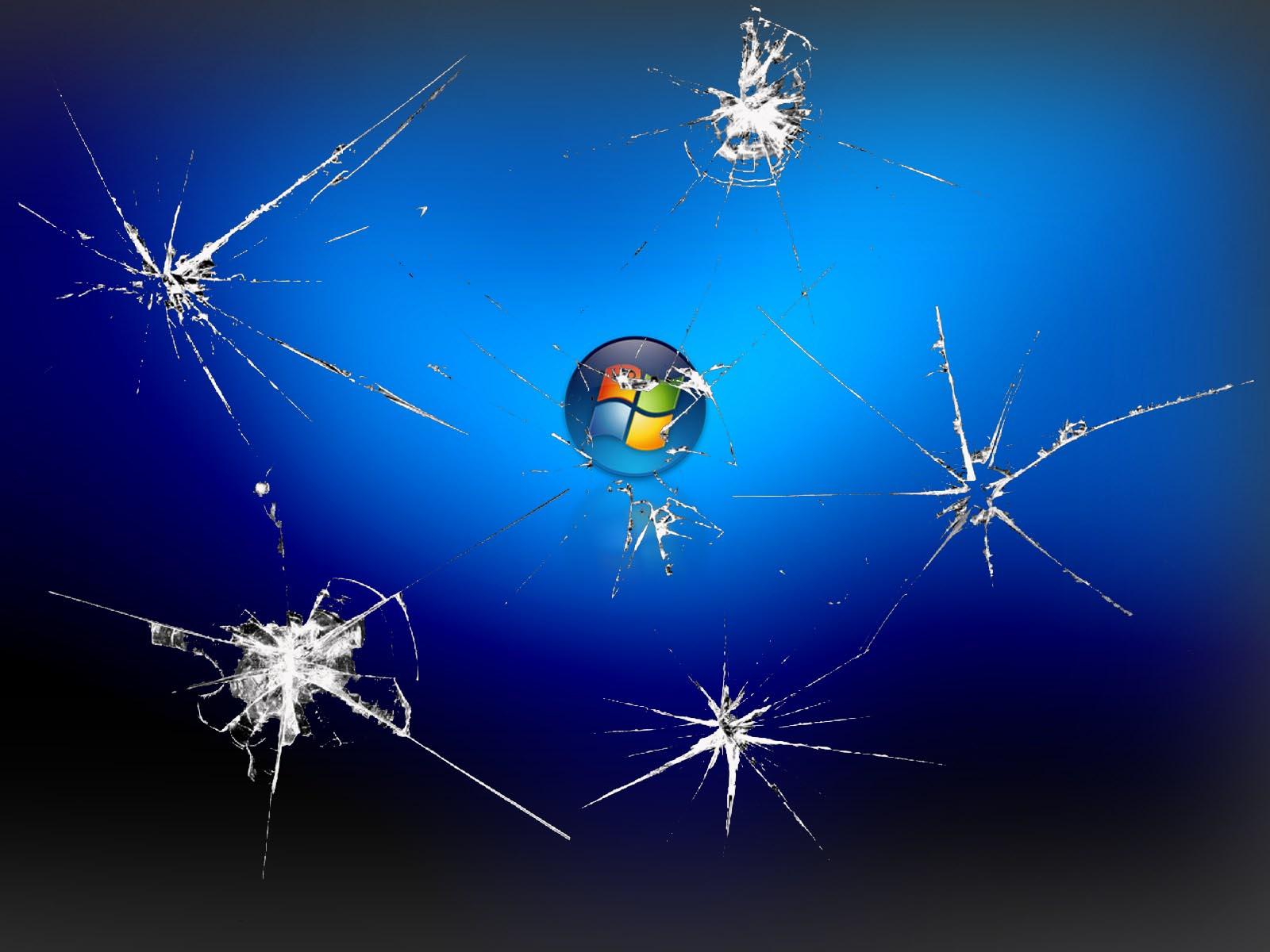 desktop screen better still set one of these cracked screen wallpapers 1600x1200