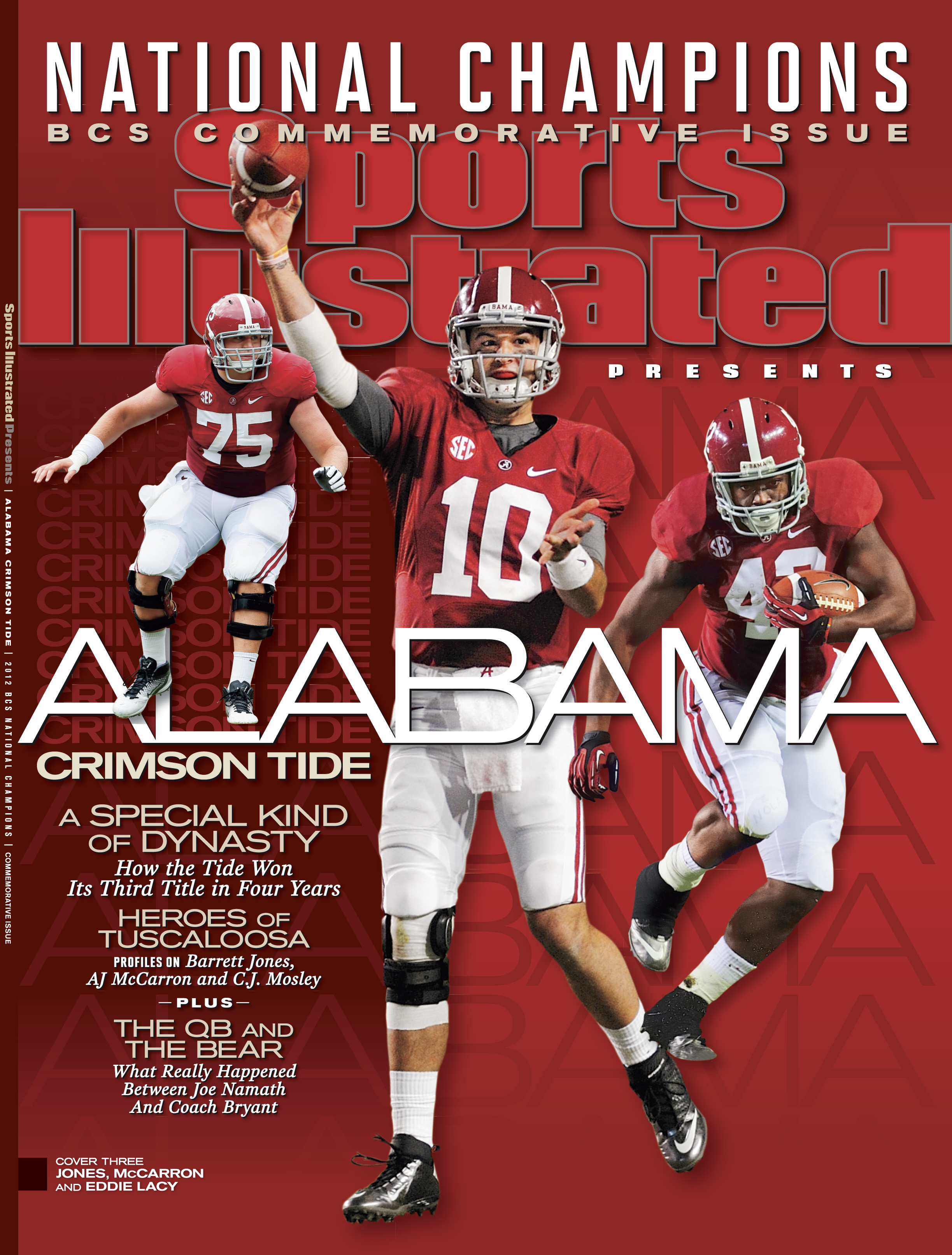 Alabama Crimson Tide Featured on Sports Illustrated Commemorative 2447x3225